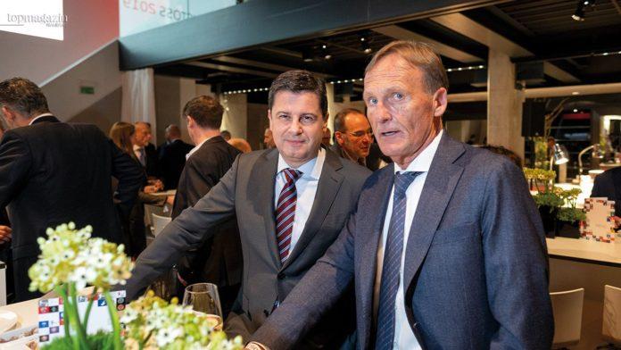 DFL-Geschäftsführer Christian Seifert und BVB-Geschäftsführer Hans-Joachim Watzke