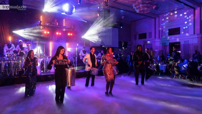 Die Festivalshow-Band sorgte bei der Makkabi-Gala für grandiose Stimmung