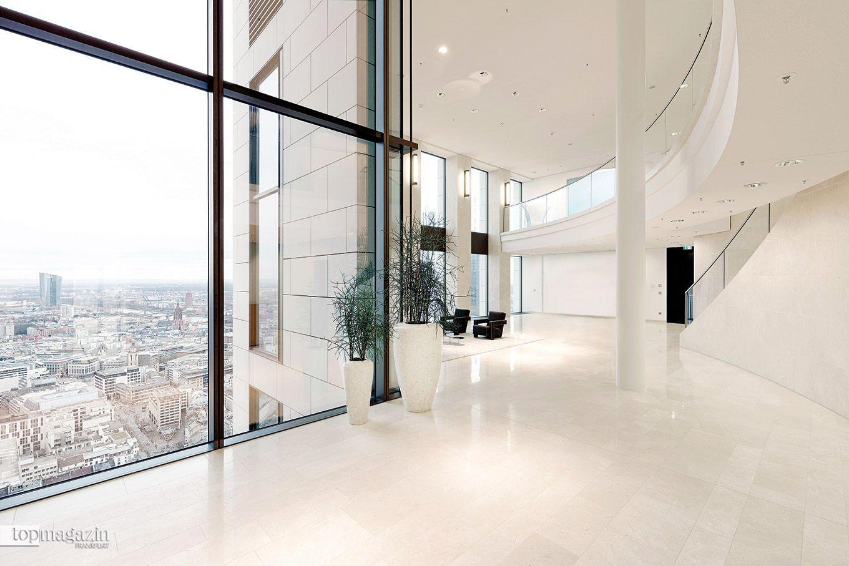 Die UBS-Skylobby in der 38. Etage