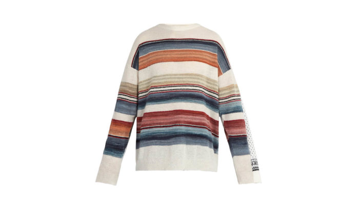 Double Layered Norwegian Sweater by Y/Project