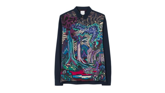 Dreamer Paint Shirt by Paul Smith