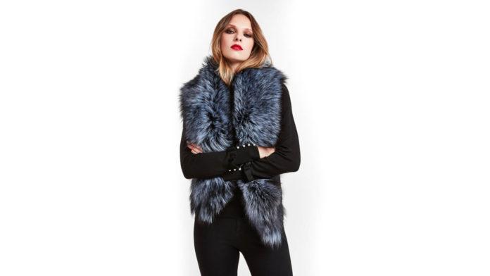 Duchess Fur Stole by Cara Mila