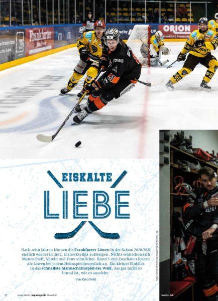Eiskalte Liebe - Eishockey bei den Frankfurter Löwen_Seite_1