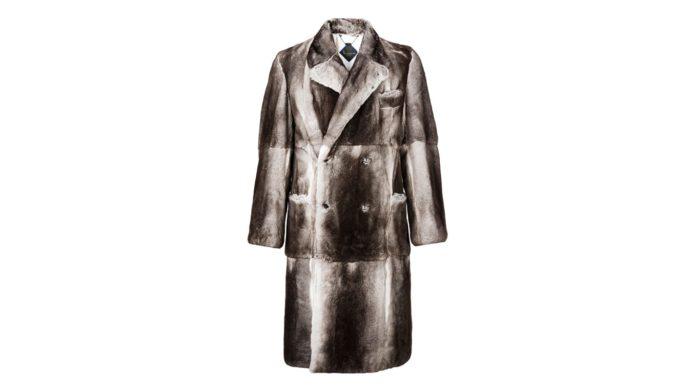 Fur Coat Long Luxury by Billionaire