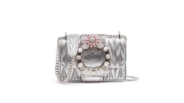 Lady Matelasse Shoulder Bag by Miu Miu