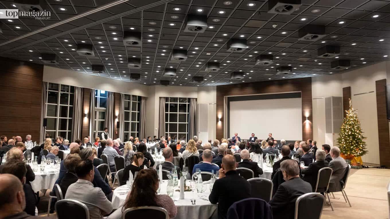 Mehr als 250 Gäste folgten der Einladung in das Crowne Plaza