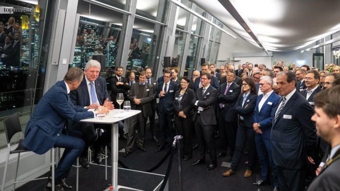 Michel Friedman im Gespräch mit Ministerpräsident Volker Bouffier