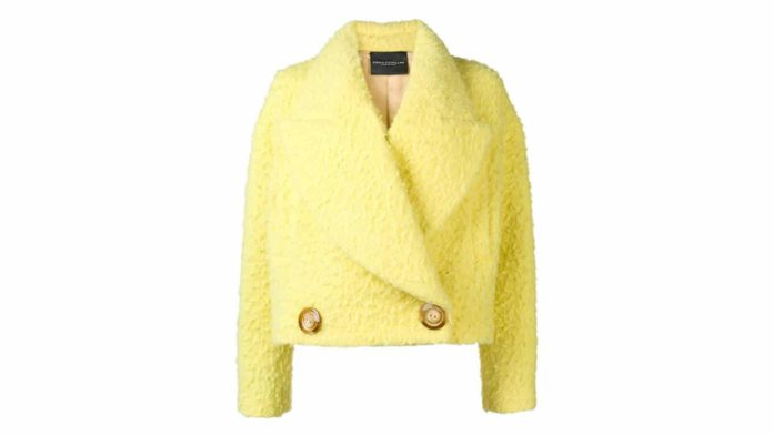 Oversized Collar Jacket by Erika Cavallini