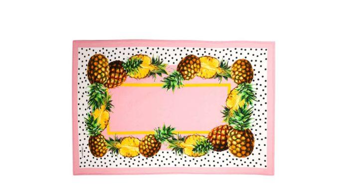 Pineapple Badetuch Dolce & Gabbana