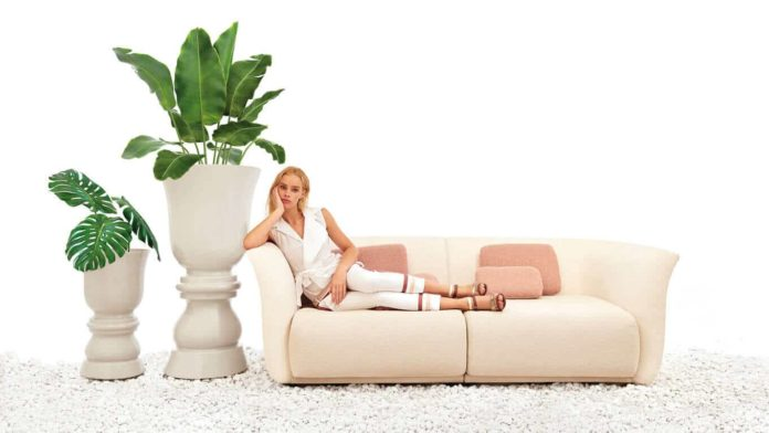Planter Vandom Sofa by Marcel Wanders