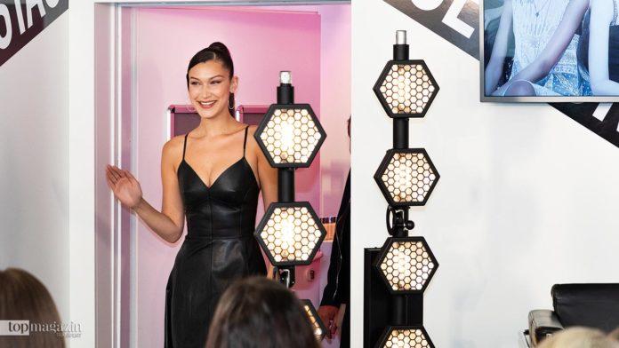 Supermodel Bella Hadid zu Besuch in Frankfurt