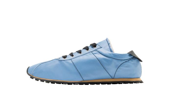 Techno Jersey Blue Sneaker by Marni