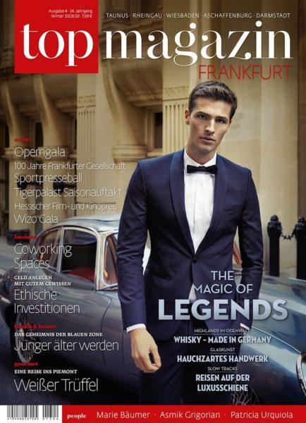 Top Magazin Frankfurt, Ausgabe Winter 2019