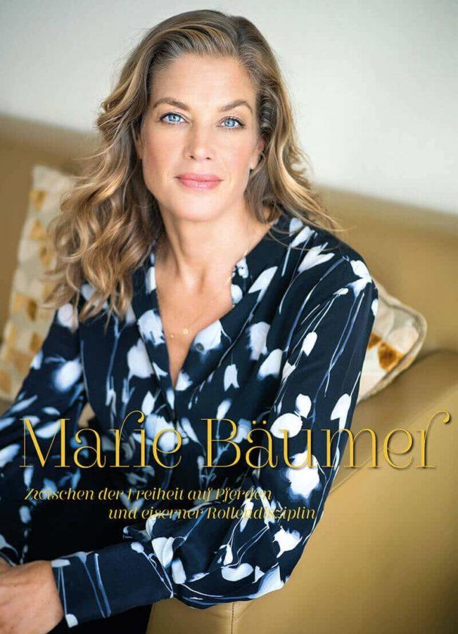 Top Magazin Frankfurt, Ausgabe Winter 2019 - Marie Bäumer im Portrait