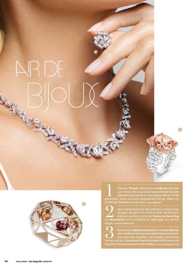 Top Magazin Frankfurt, Ausgabe Winter 2019 - Top Jewelry