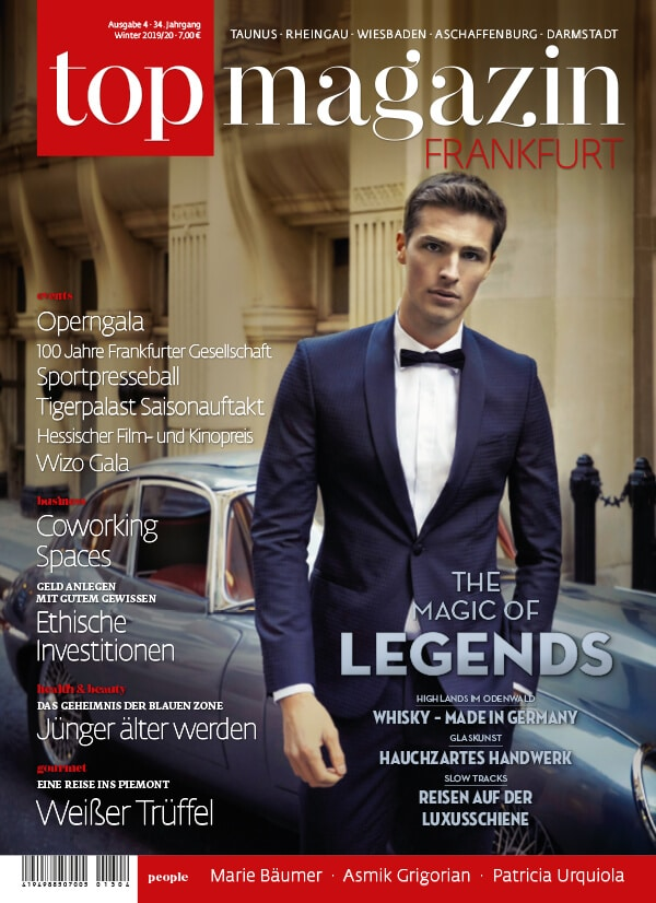 Top Magazin Frankfurt, Ausgabe Winter 2019