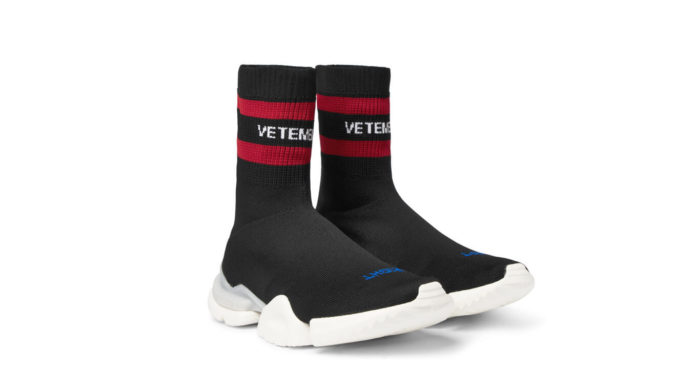 Vetements x Reebok Sock Sneakers