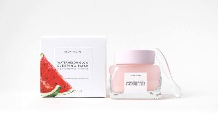 Watermelon Glow Sleeping Mask by Glow Recipe