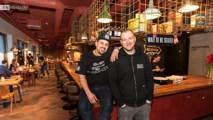 Chicago Williams BBQ-Macher Nawid Samawat und Branimir Hrkac
