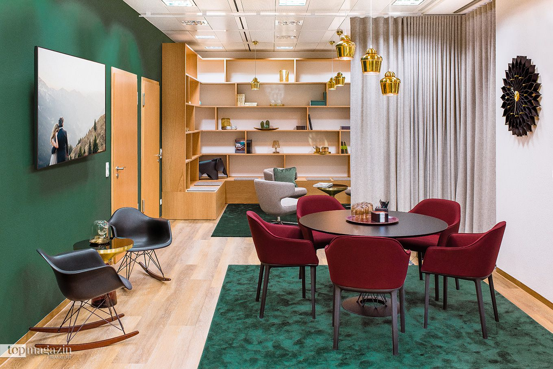 "Library im ""ecos office center"" Frankfurt"