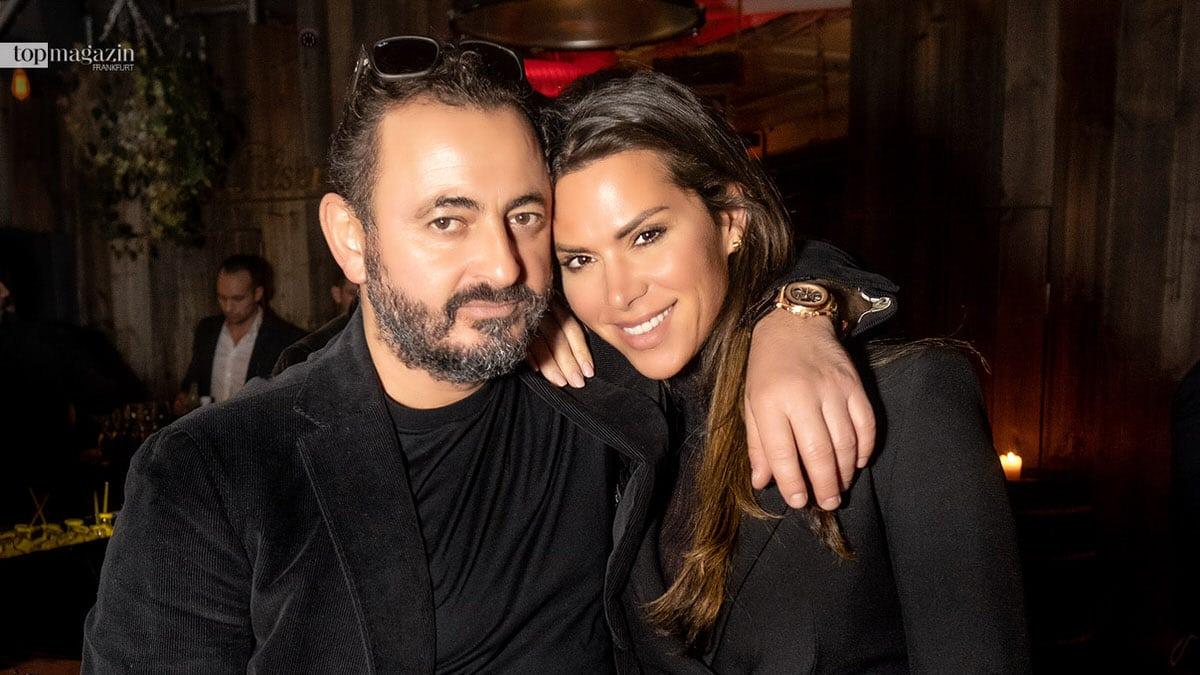 Jetzt ist es offiziell: Alex Urseanu und Diana Bürgin zeigen sich zum ersten Mal total verliebt auf der Top Lounge