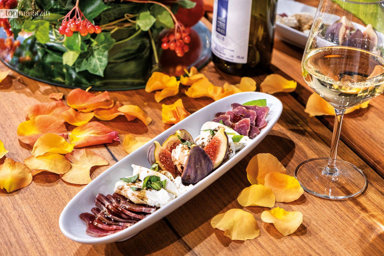 Feigen mit Filetto Piemontese und Burrata von Motsi Mabuse