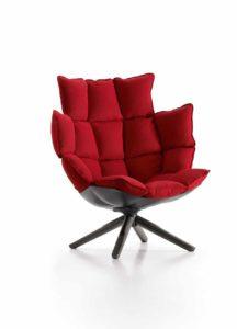 """Husk (2011) für B&B Italia: """"Der Betrachter sollte schon beim Anblick eines Sessels einen nicht nur körperlichen, sondern auch geistigen Komfort empfinden."""""""