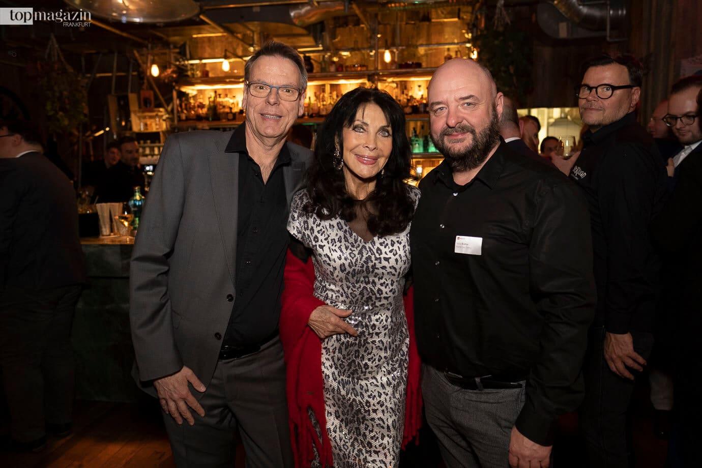 Michael Eichler mit Dunja Rajter und Bernd Breiter (World Club Dome)