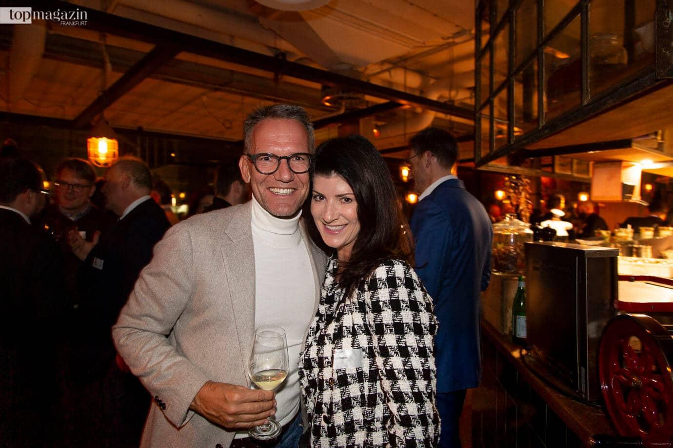 Ulrich Höller (ABG Real Estate) und Oana Rosen