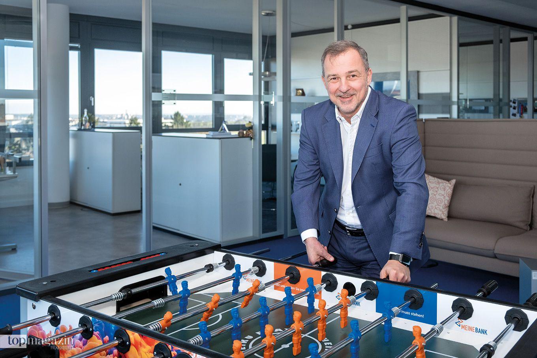 """Achim Brunner, Vorstandsvorsitzender """"Meine Bank"""""""