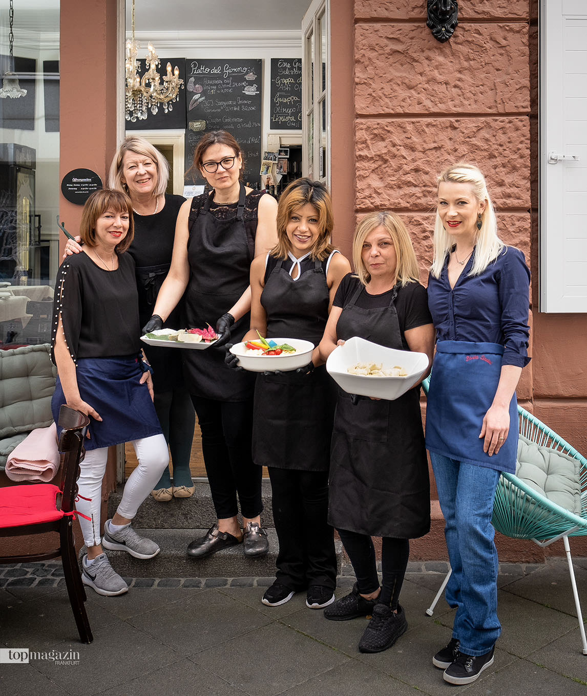 Das Team von Pasta Davini