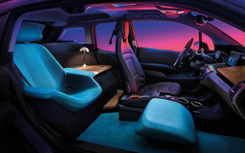 Der BMW i3 Urban Suite wurde auf der Computer Electronics Show (CES) 2020 in Las Vegas präsentiert.