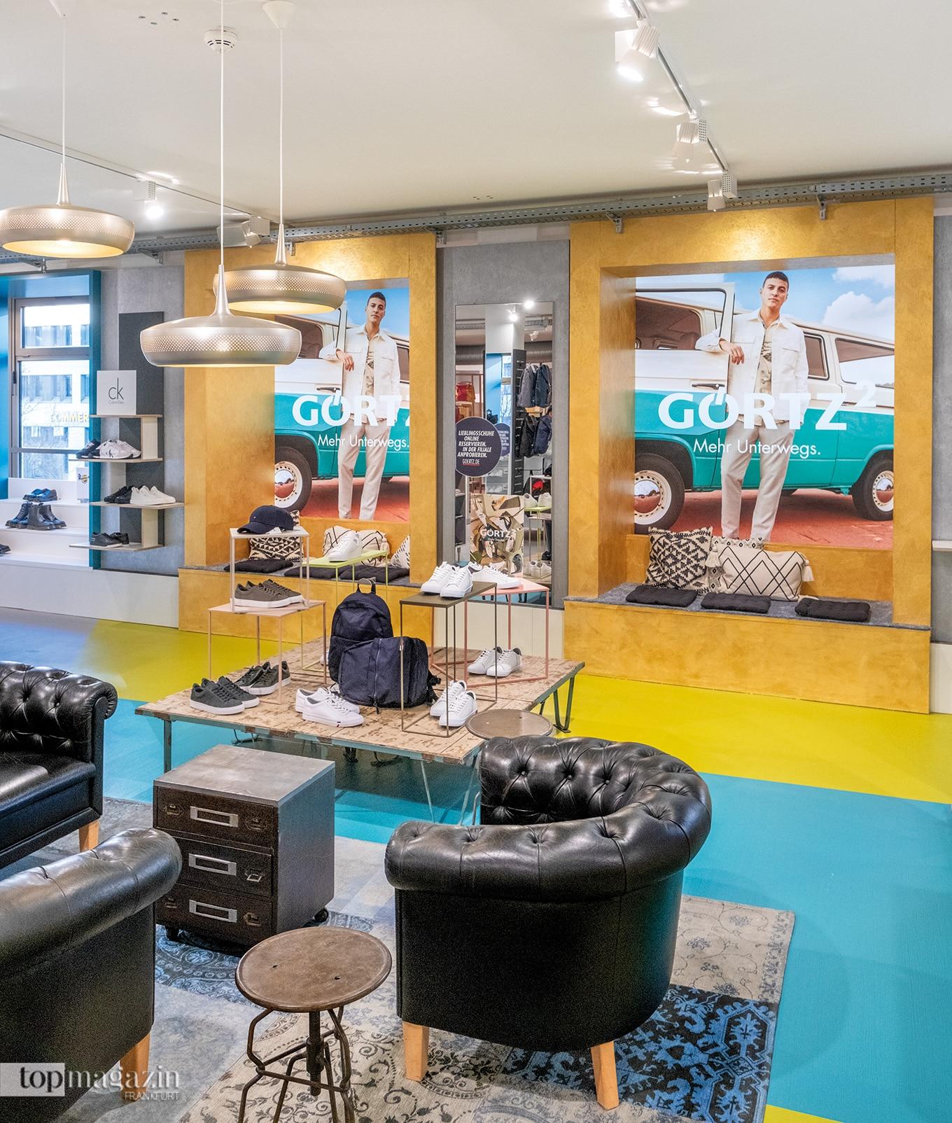 Der neue Görtz Flagship Store in der Kaiserstraße 9
