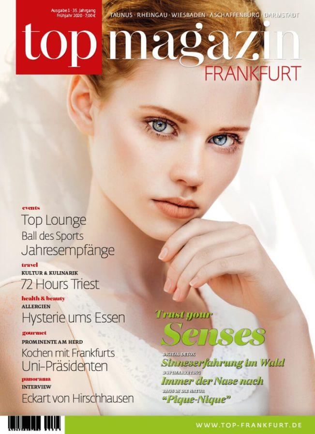 Top Magazin Frankfurt, Ausgabe Frühjahr 2020