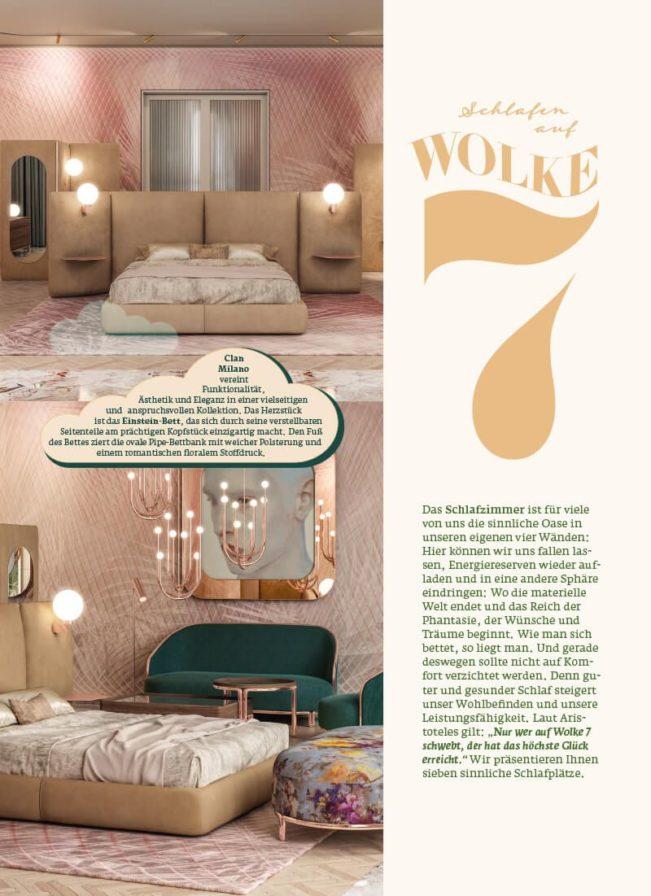 Top Magazin Frankfurt, Ausgabe Frühjahr 2020 - Die schönsten Betten