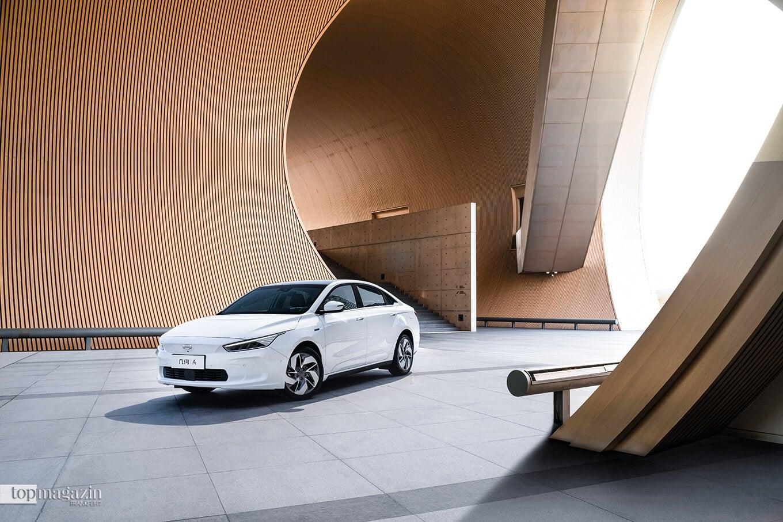 Die Elektro-Limousine Geometry A