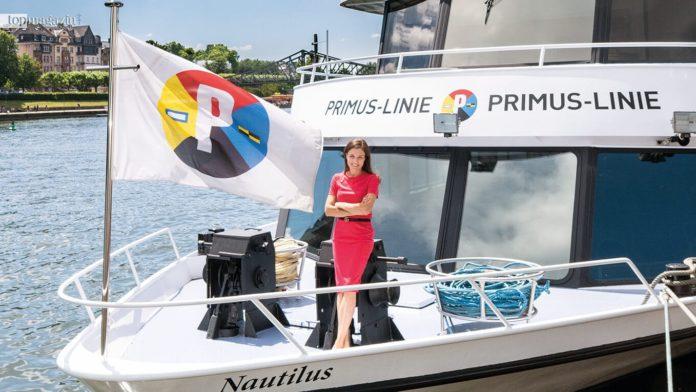 Dr. Marie Nauheimer auf der Primus Linie