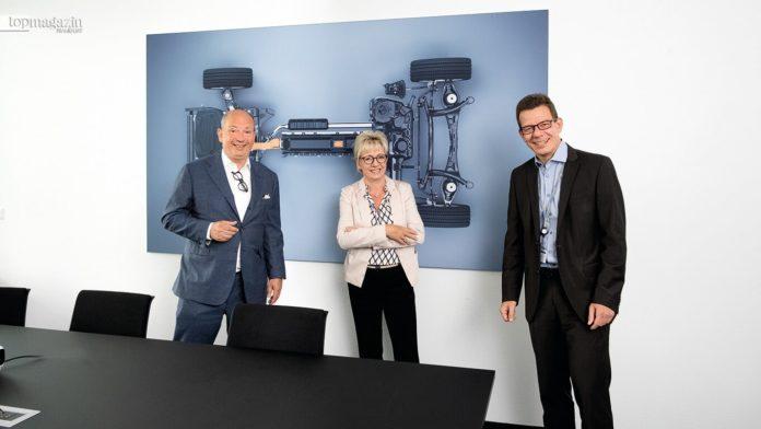 Frank Klaas, Pia Kramer und Dr. Ralph Strenger