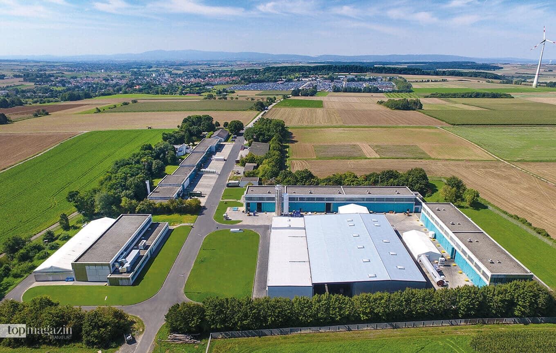 Luftbild vom Werk Schöneck