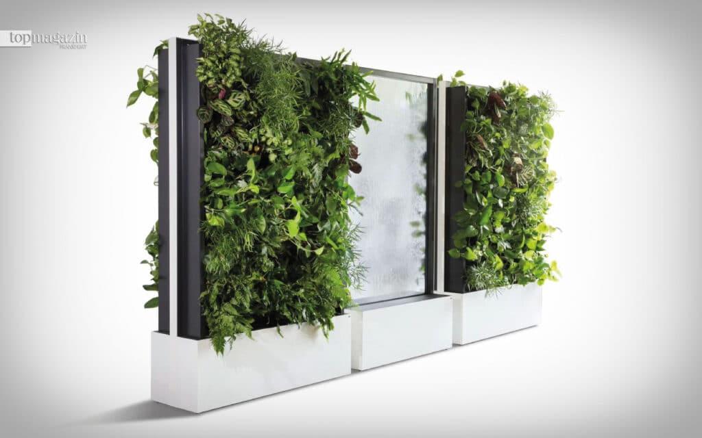 Mit Pflanzen Abstand herzustellen, ist viel eleganter
