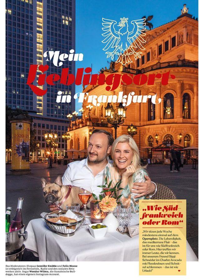 Top Magazin Frankfurt, Sommer 2020, Lieblingsplätze