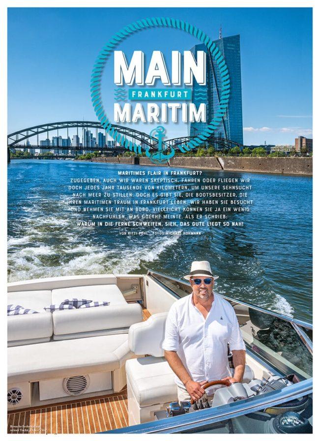 Top Magazin Frankfurt, Sommer 2020, Main Maritim