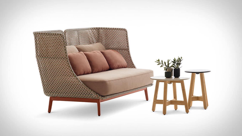 Dedon MBARQ 3er-Sofa