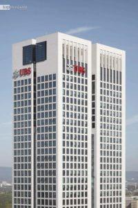 Sitz der UBS im OpernTurm Frankfurt