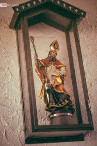 St. Kilian wacht über die Destillerie