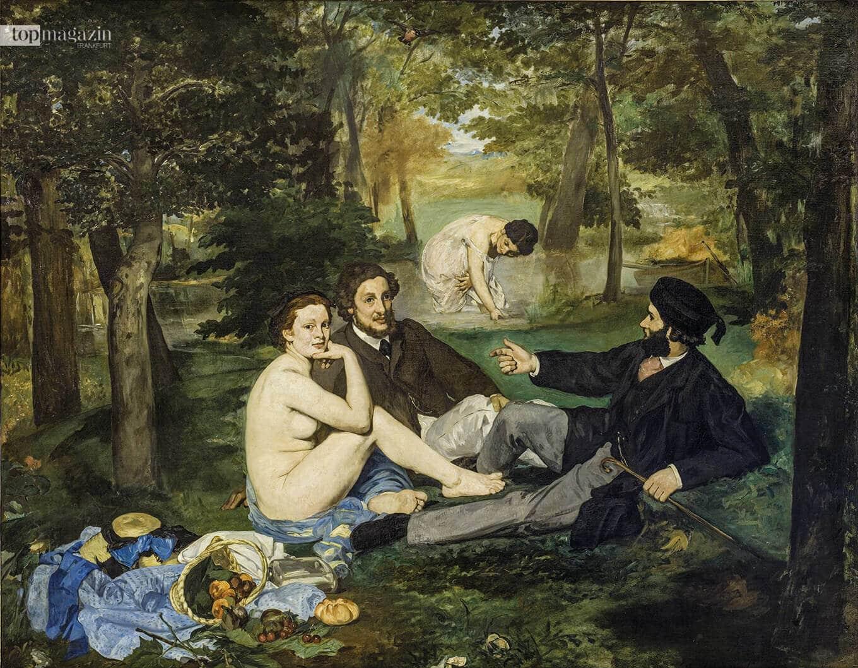 Edouard Manet - Le Déjeuner sur l'herbe (1863)