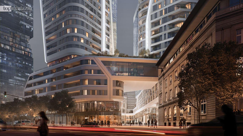 FOUR – Das geplante Hochhausquartier auf dem ehemaligen Gelände der Deutschen Bank
