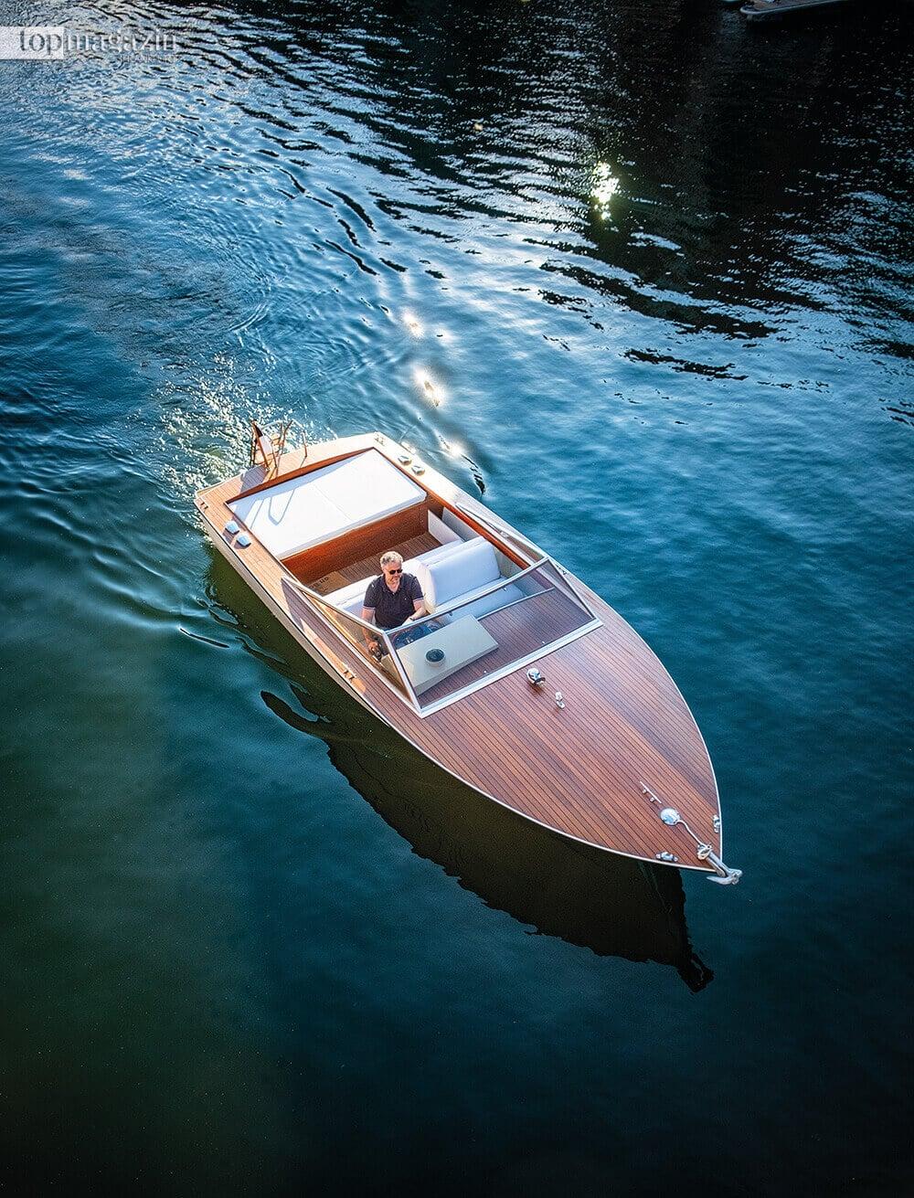Italienische Anmut – Die Ilver-Yacht von 1979