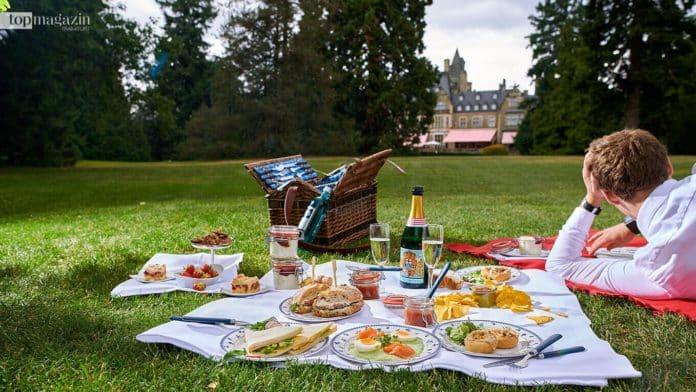 Picknick im Schlosshotel Kronberg Park