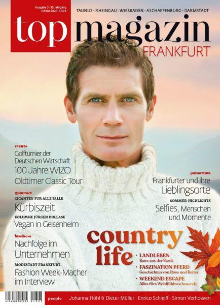 Top Magazin Frankfurt, Ausgabe Herbst 2020